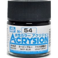 GUNZE N054 ACRYSION 10 ML NAVY BLUE A L'UNITE