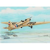 RS MODELS 92039 ZLIN-XII OPEN 1/72