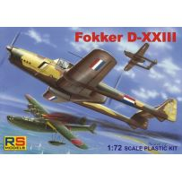 RS MODELS 92081 FOKKER D-XXIII EAST NETH 1/72