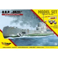 MIRAGE HOBBY 840092 [MODEL SET] ORP ORZE [POLISH SUBMARINE 1939] 1/400