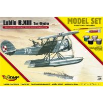 MIRAGE HOBBY 848091 [MODEL SET] LUBLIN R.XIII TER/HYDRO RECONNAISSANCE SEAPLANE 1/48