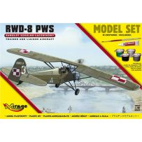 MIRAGE HOBBY 848092 [MODEL SET] R.W.D.-8 PWS TRAINER AND LIAISON PLAN VERSION 1/48