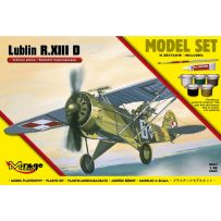 MIRAGE HOBBY 848093 [MODEL SET] LUBLIN R.XIII D LIAISON PLAN / ARMY-COOPERATION VERSION 1/48