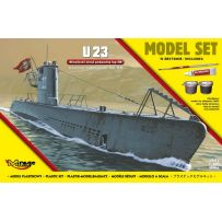 MIRAGE HOBBY 840066 [MODEL SET] U23 GERMAN SUBMARINE WW II TYPE IIB 1/400
