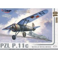 MIRAGE HOBBY 481001 PZL P-11C POLISH AIR FORCE 1/48