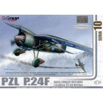 MIRAGE HOBBY 48107 PZL P.24F WITH 20MM OERLIKON 1/48