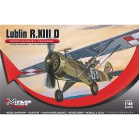 MIRAGE HOBBY 485001 LUBLIN R.XIII D LIAISON PLAN / ARMY-COOPERATION VERSION 1/48