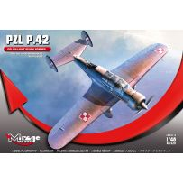 MIRAGE HOBBY 481320 PZL P.42 POLISH LIGHT DIVING BOMBER 1/48