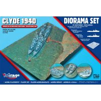 MIRAGE HOBBY 401002 [DIORAMA SET] CLYDE 1940 SCOTLAND FIRTH OF CLYDE 1/400