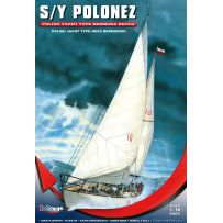 MIRAGE HOBBY 508001 YACHT S/Y POLONEZ 1/50