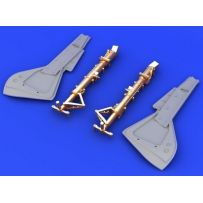 FW 190 UNDERCARRIAGE LEGS BRONZE 1/32