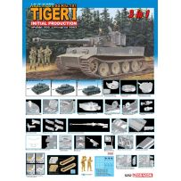 [HC] - TIGER I PRODUCTION INIT. RUSSIE 1943 1/35