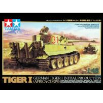 TAMIYA 32529 TIGER I INITIAL PRODUCTION AFRICA KORPS 1/48