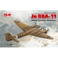 BOMBARDIER ALLEMAND WWII JU 88A-11 1/48