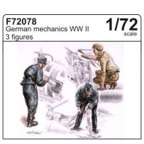 CMK F72078 GERMAN MECHANICS (3 FIG.) 1/72