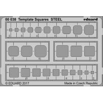 TEMPLATE SQUARES STEEL