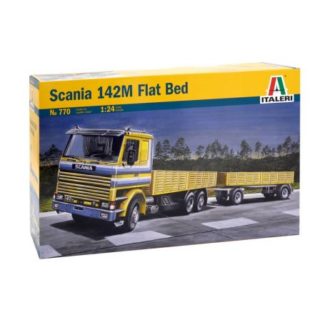 CAMION SCANIA 142M FLAT BED 1/24