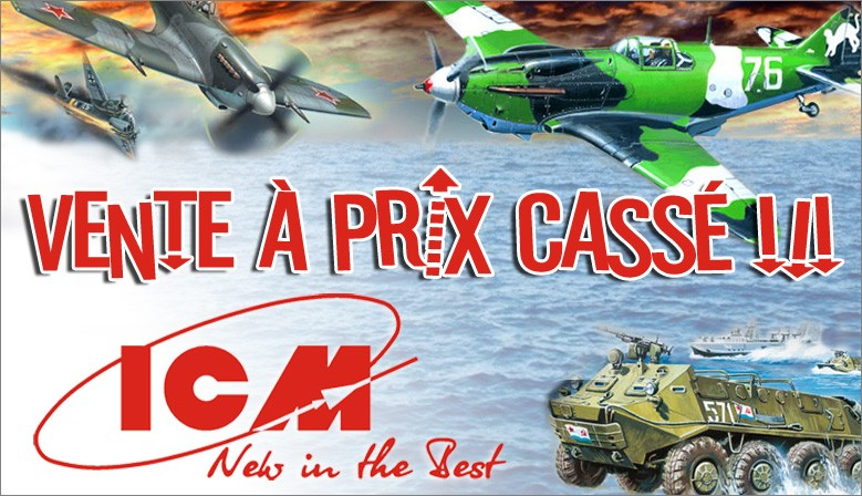 Promotion sur le catalogue ICM