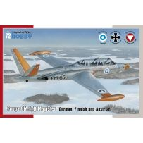 FOUGA CM.170 MAGISTER GERMAN, FINNISH & AUSTRIAN 1/72