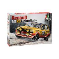 RENAULT R5 ALPINE RALLY 1/24