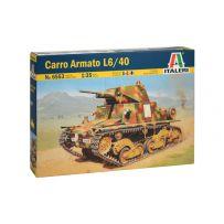 CHAR / TANK CARRO ARMATO L6/40 1/35