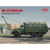 CAMION MILITAIRE SOVIETIQUE ZIL-131 MTO-AT 1/35