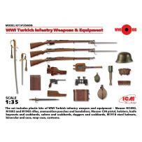 ARMES ET EQUIPEMENTS INFANTERIE TURQUE WWI 1/35