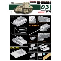 SHERMAN EGYPTIEN 1/35