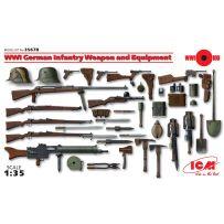 Armes & Equipements Infanterie Allemande 1/35