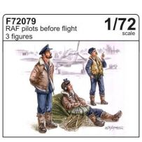 Raf Pilots Before Flight 1/72