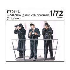 U-Vii Crew Guard With Binoculars 1/72