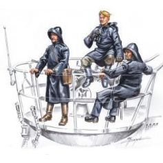 U-Vii Crew On Sentry 1/72