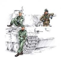 Waffen Ss Tankers 1/72