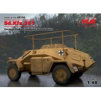 VEHICULE RADIO COM. ALLEMAND SD. KFZ.261 WWII 1/48