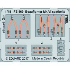 Beaufighter Mk.Vi Seatbelts Steel 1/48