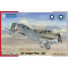 Delta 1D/ E US Transport plane 1/72