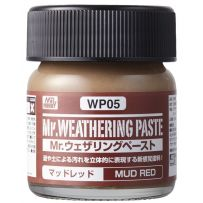 GUNZE WP05 WEATHERING PASTE MUD RED