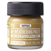 GUNZE WP04 WEATHERING PASTE MUD YELLOW