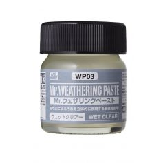 WP-3 Weathering Paste Wet Clear (40ml)