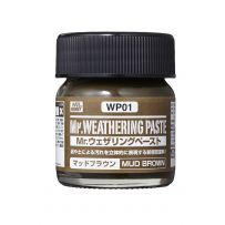GUNZE WP01 WEATHERING PASTE MUD BROWN