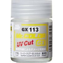 GUNZE GX113 SUPER CLEAR III UV CUT FLAT