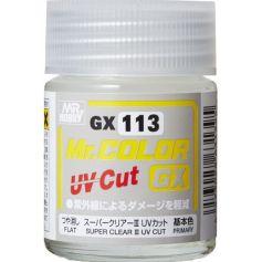 Mr. Color GX Super Clear III UV Cut Flat (18ml)