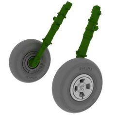 Spitfire Wheels 4 Spoke 1/48