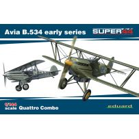 AVIA B.534 EARLY SERIES QUATTRO COMBO 1/144