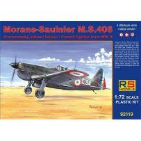 MORANE SAULNIER MS.406 NAVAL/D-3800 1/72