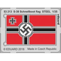 S-38 Schnellboot Flag Steel 1/35