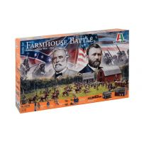 GUERRE DE SECESSION FARMHOUSE BATTLE 1/72