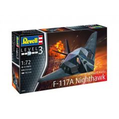 F-117a Nighthawk Stealth Fighter 1/72
