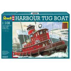 Model Set Harbour Tug Boat 1/108