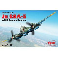 Bombardier Allemand Wwii Ju 88a-5 1/48